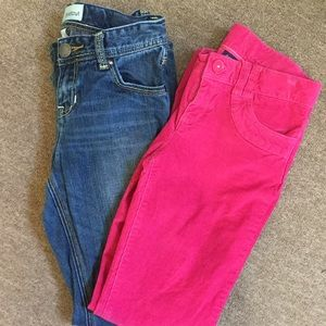 2 Pairs of Gap Pants - size 10